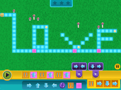 Kodable Game Smeeborg Screenshot